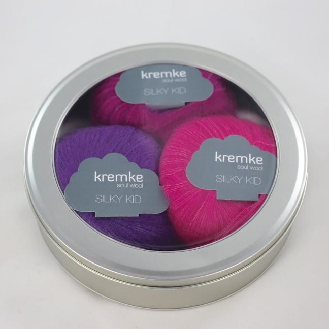 Kremke Round Gift Box Tin Foil