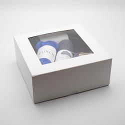 Kremke Soul Wool Gift Box with transparent Top