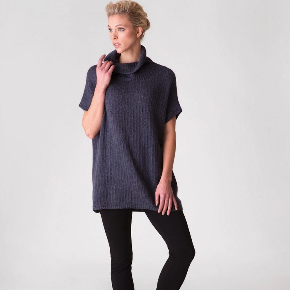 Shibui Knits Printed patterns in English Sontag for Pebble and Lunar