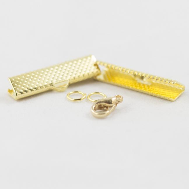 Kremke Soul Wool Bandklemmen mit Verschluss 25mm