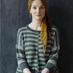 Erika Knight Printed Patterns Studio Linen Promenade Englisch Studio Linen