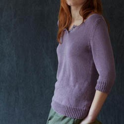 Erika Knight Printed Patterns Studio Linen Teatime Englisch Studio Linen