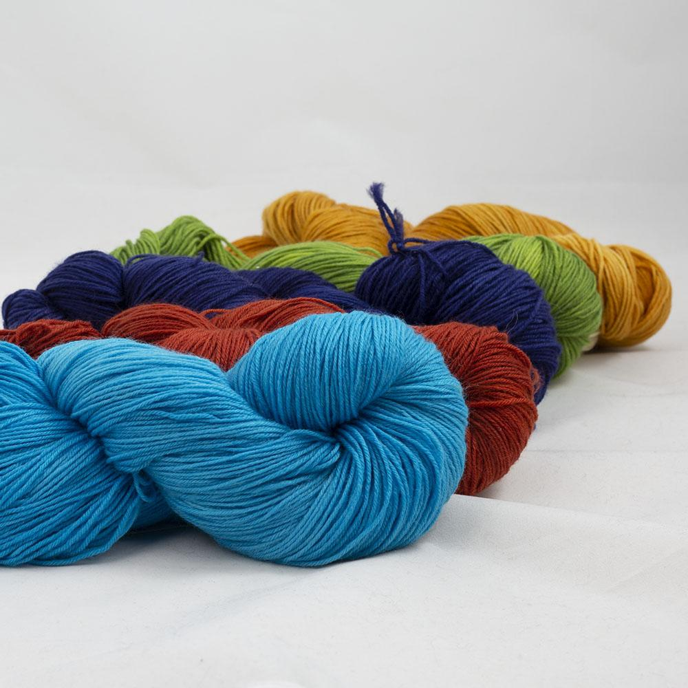 Kremke Soul Wool Lazy Lion Sock Yarn semi solid Mix