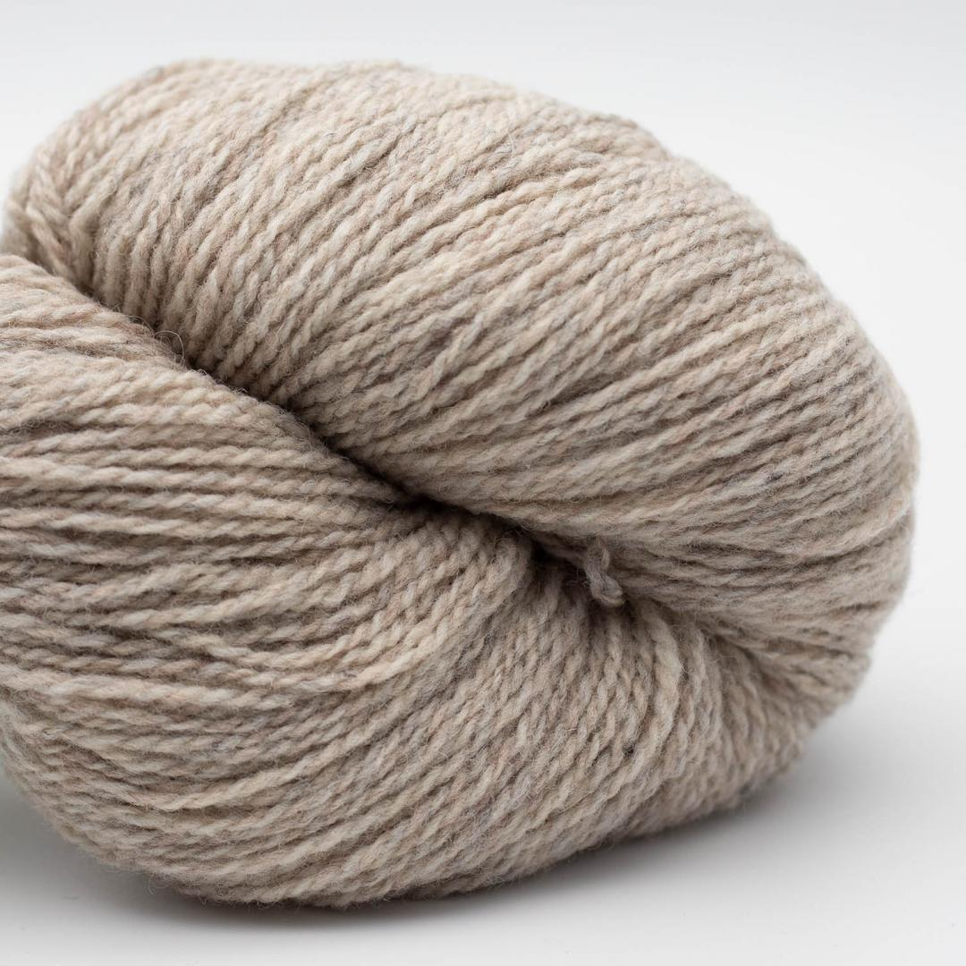 BC Garn Semilla Pura GOTS certified Beige Grey Marled