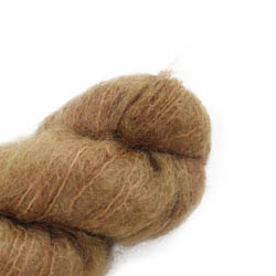 Cowgirl Blues Fluffy Mohair Semi Solids 39-Camel