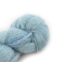 Cowgirl Blues Fluffy Mohair Semi Solids 37-Celadon