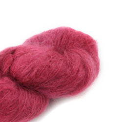 Cowgirl Blues Fluffy Mohair Semi Solids 24-Dusty Rose
