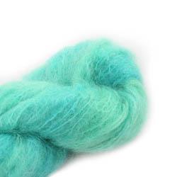 Cowgirl Blues Fluffy Mohair Semi Solids 15-Emerald