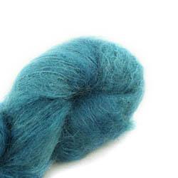 Cowgirl Blues Fluffy Mohair Semi Solids 17-Guinea Fowl