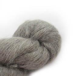 Cowgirl Blues Fluffy Mohair Semi Solids 38-Mushroom