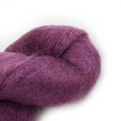 Cowgirl Blues Fluffy Mohair Semi Solids 34-Plum