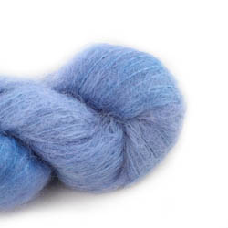 Cowgirl Blues Fluffy Mohair Semi Solids 16-Seagrass