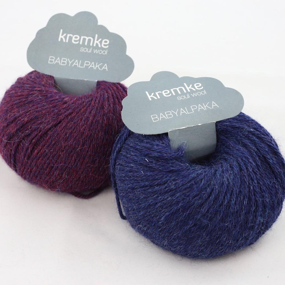 Kremke Soul Wool Baby Alpaca Blueberry