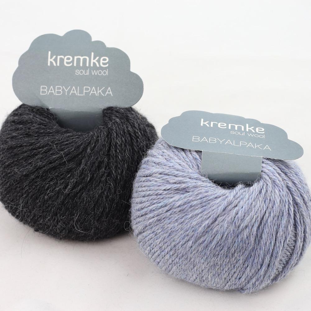 Kremke Soul Wool Baby Alpaca Jeans Anthrazit