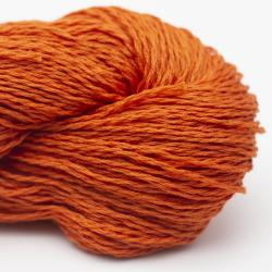 BC Garn Luxor mercerised cotton tieforange