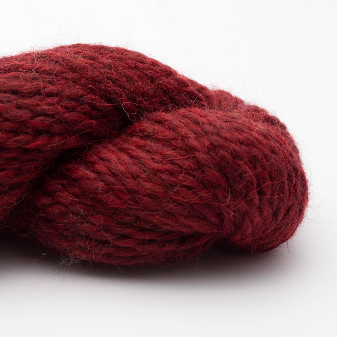 Kremke Soul Wool Llama Soft 100g Deep Red Melange