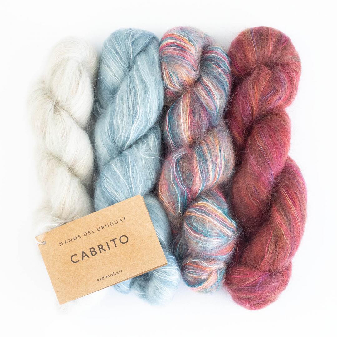 Manos del Uruguay Cabrito 25g hand dyed  Primrose