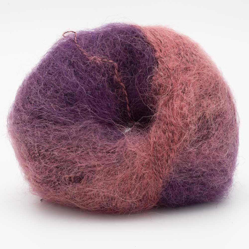 Kremke Soul Wool Baby Silk Fluffy varigated Rosa