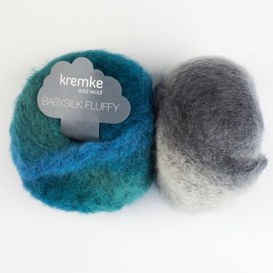 Kremke Soul Wool Baby Silk Fluffy varigated