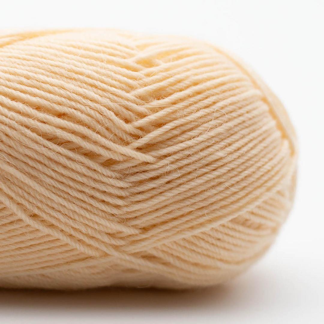 Kremke Soul Wool Edelweiss Alpaca 25 Hellgelb