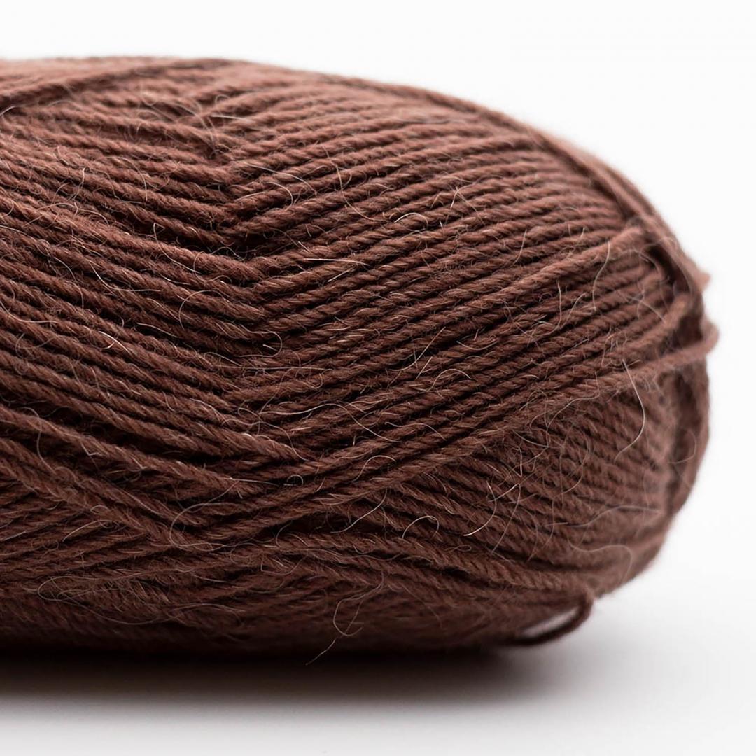 Kremke Soul Wool Edelweiss Alpaca 25 Braun
