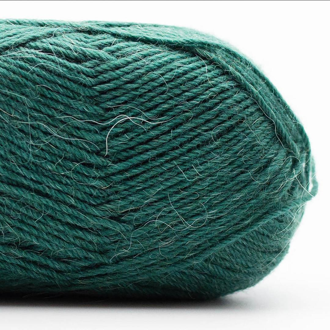 Kremke Soul Wool Edelweiss Alpaca 25 Dunkelgrün