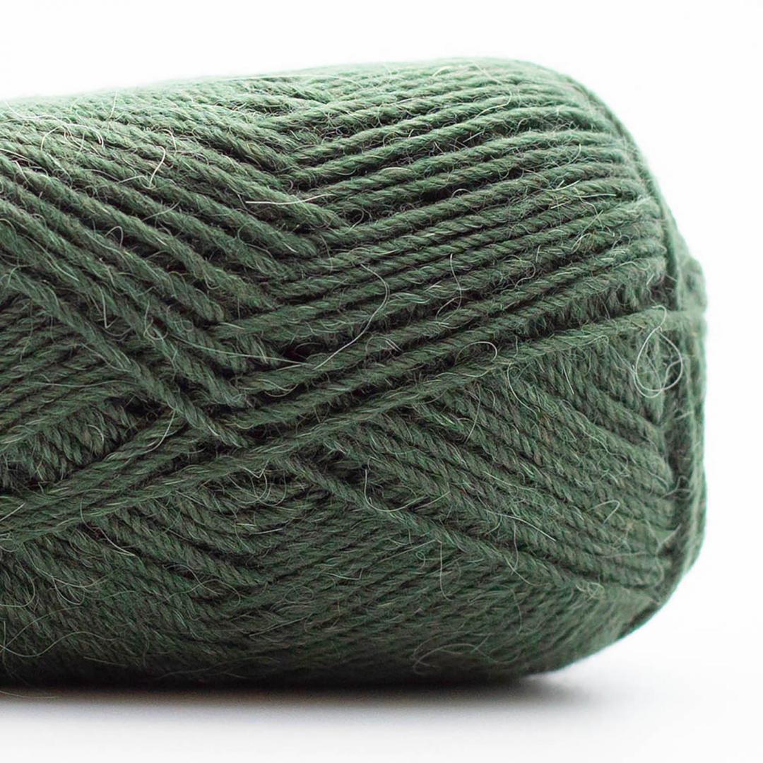 Kremke Soul Wool Edelweiss Alpaca 25 Käfer-Grün