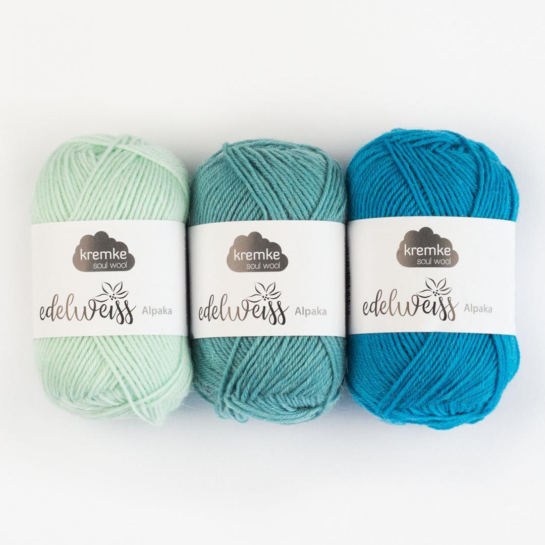 Kremke Soul Wool Edelweiss Alpaca 25  Naturweiß
