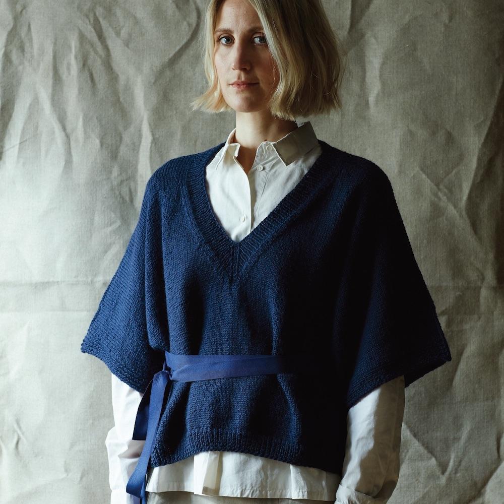 Erika Knight Printed patterns British Blue 100g discontinued designs