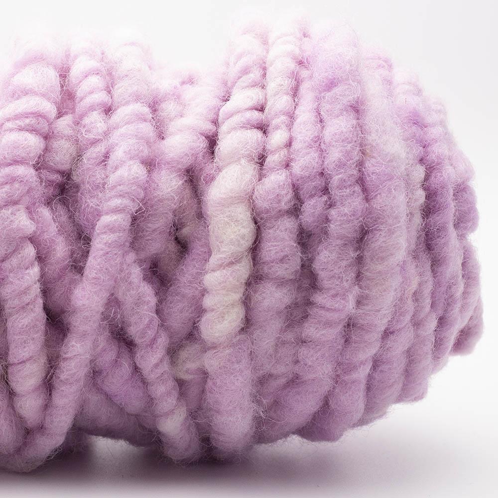 Kremke Soul Wool RUGby Teppichwolle gefärbt Rosa