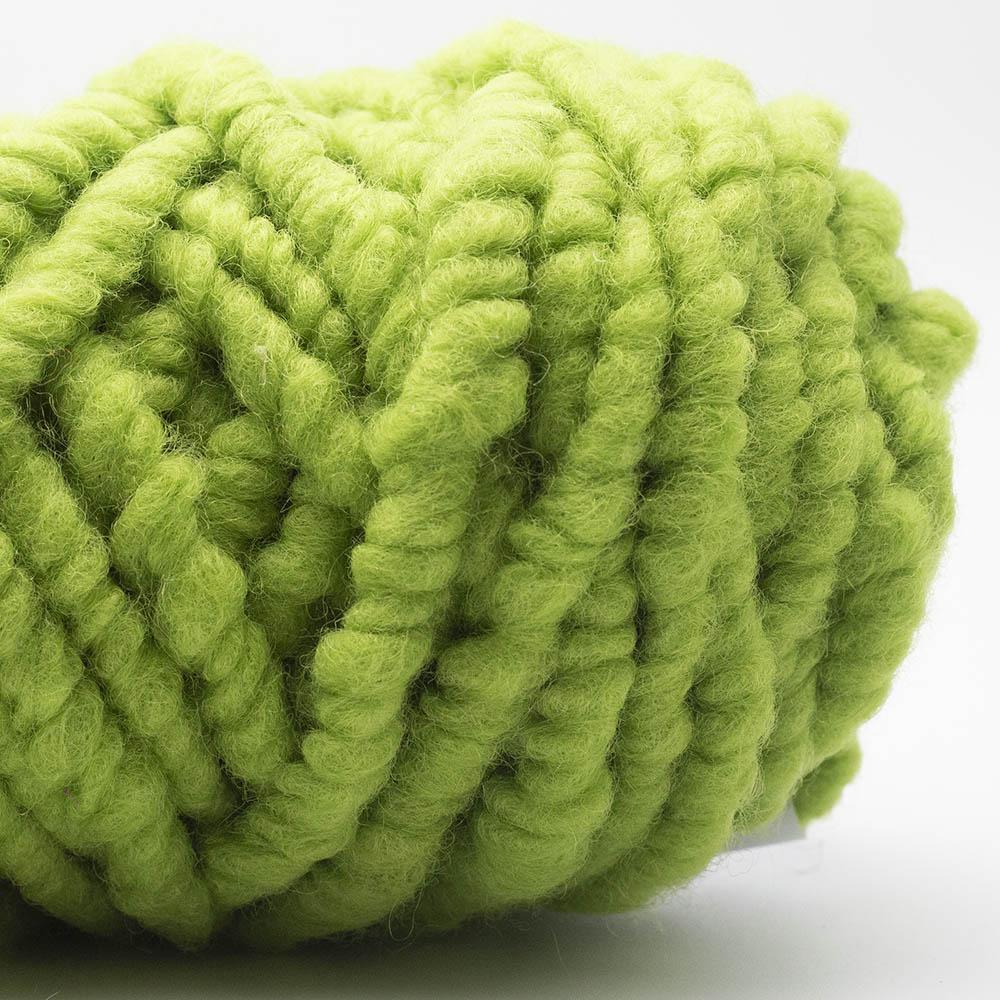 Kremke Soul Wool RUGby Teppichwolle gefärbt Kiwi