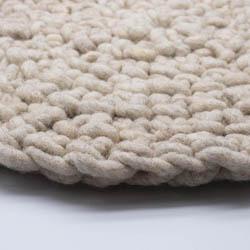 Kremke Soul Wool Rugby Rug Wool GOTS undyed