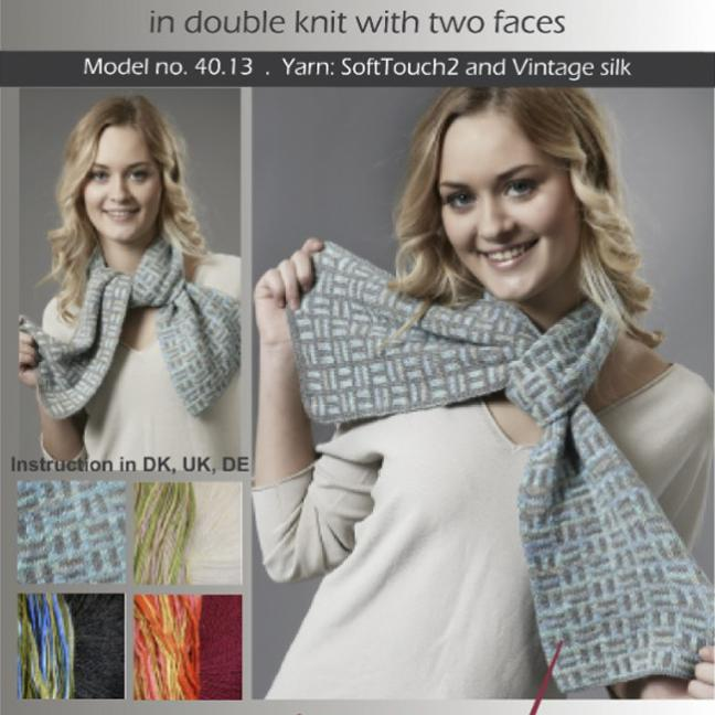 Karen Noe Design Kit Domino Scarf 40.13