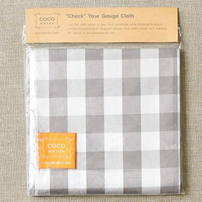 CocoKnits Check Your Gauge Cloth  Maschenprobe