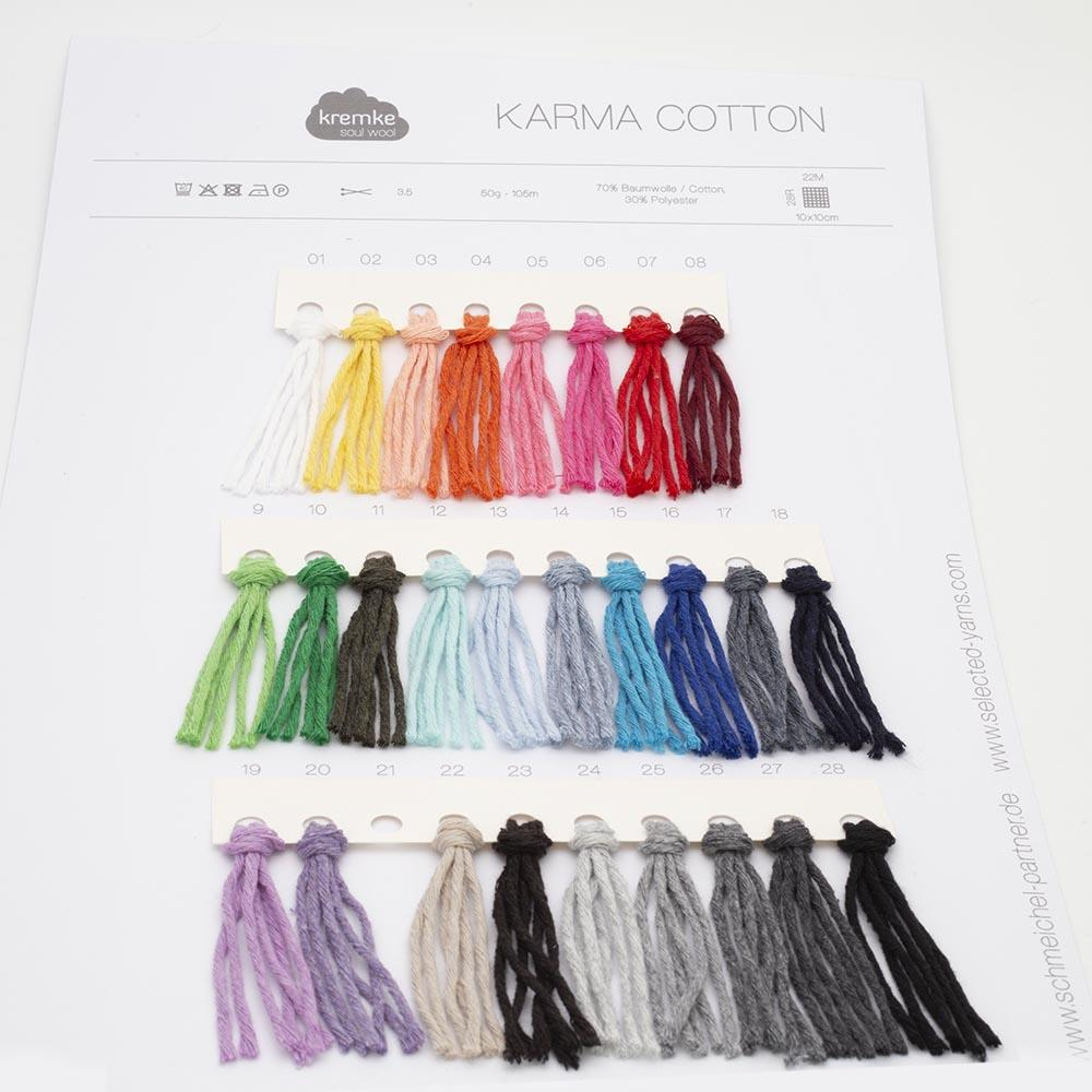 Kremke Shade cards Kremke Soul Wool Karma Cotton