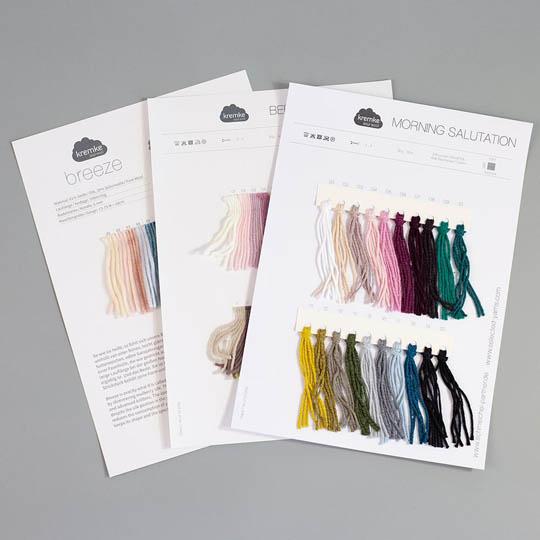 Kremke Shade cards Kremke Soul Wool