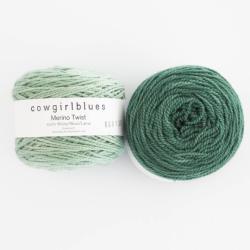 Cowgirl Blues Merino Twist Yarn solids