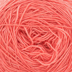 Cowgirl Blues Merino Single Lace solid Ruby Grapefruit