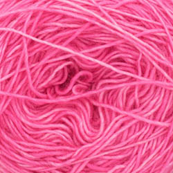 Cowgirl Blues Merino Single Lace solid Hot Pink