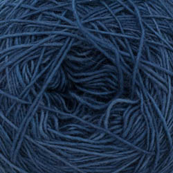 Cowgirl Blues Merino Single Lace solid Indigo