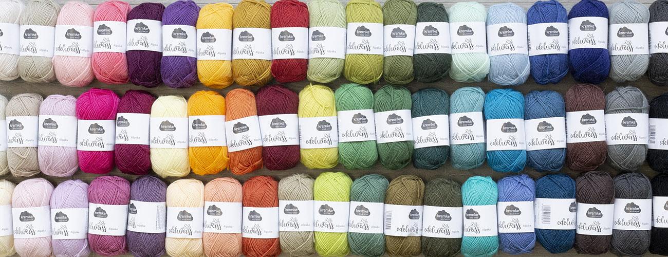 Sock Yarn in 56 Colors